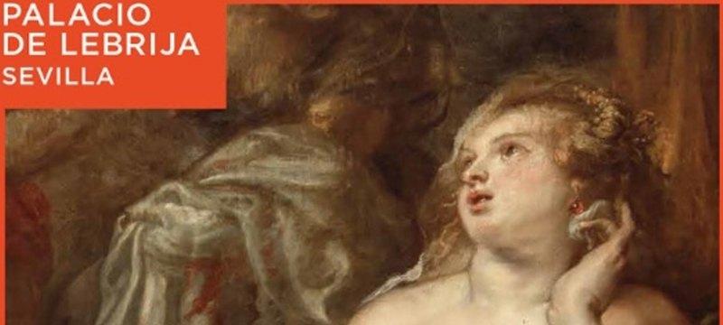 Palacio de Lebrija, Sevilla. Exposición de Peter Paul Rubens. Hércules y Deyanira