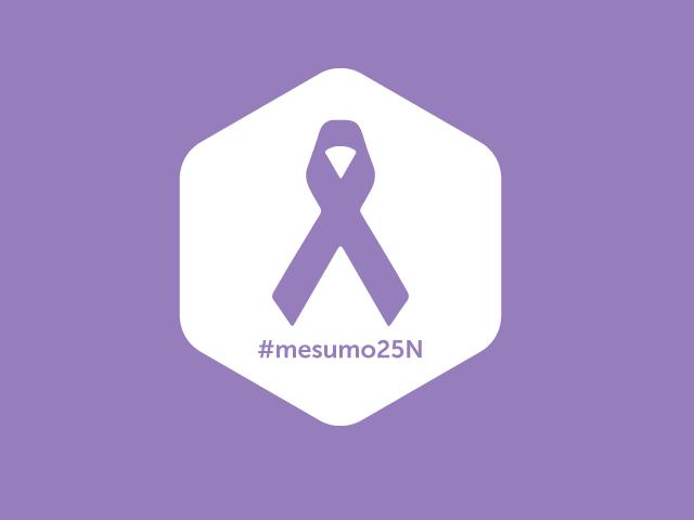 Día Internacional de la Eliminación de la Violencia contra la Mujer #MeSumo25N #NoalaViolenciadeGenero #25N