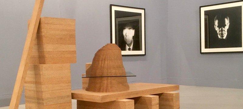 Em Perspetiva. Vista de la exposición sobre arte Contemporáneo portugués