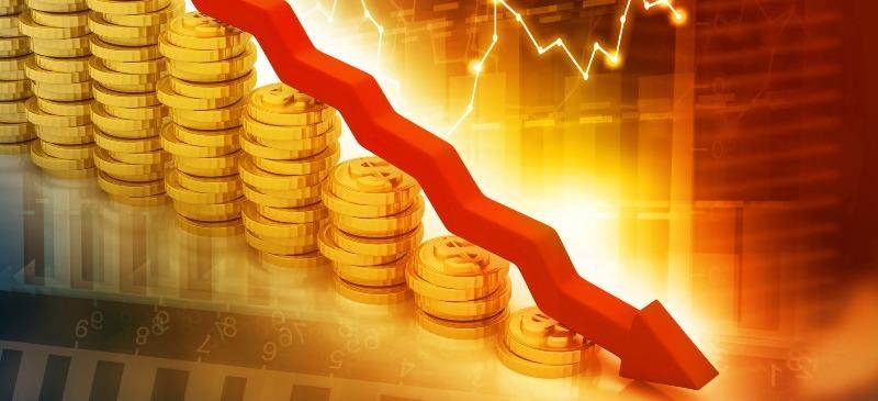 La economía en descenso