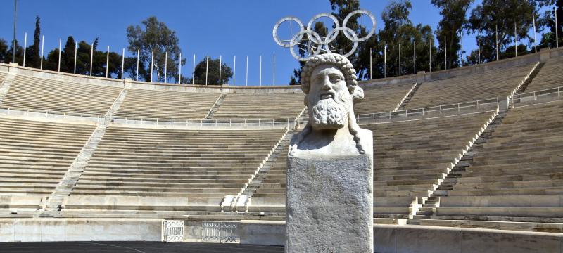 Estadio de los juegos olímpicos de Grecia