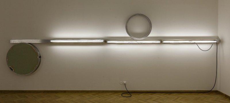Santiago de Compostela, el Centro Galego de Arte Contemporanea. Exposición de Fernando Cabrita Reis, Work (always) in progress