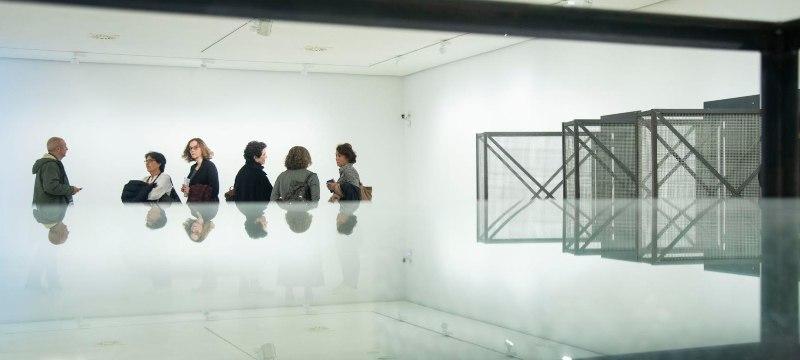 Vista de la sala de la exposición de Susana Solano.