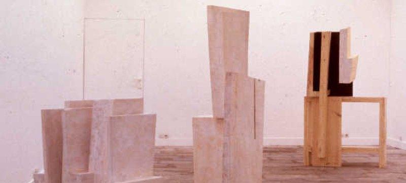 Vitoria, en el Artium. Exposición de la artista Elena Mendizabal, Escultura.