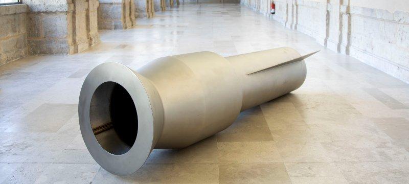 Vista de una obra de la exposición de Susana Solano.
