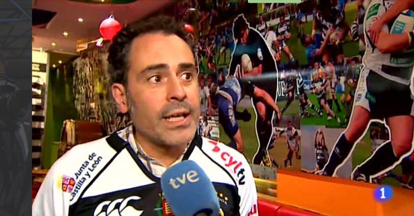 Un aficionado explica la sana rivalidad de los equipos de rugby de Valladolid