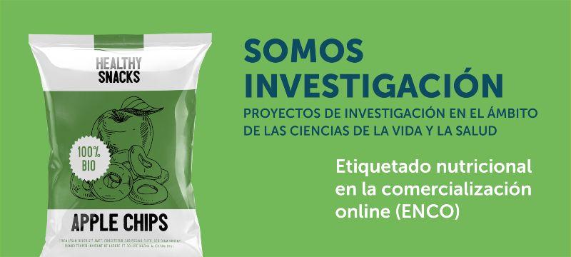 NutriScore Proyecto ENCO