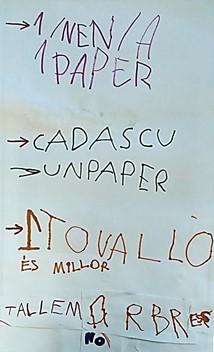 APS lemas servilleta