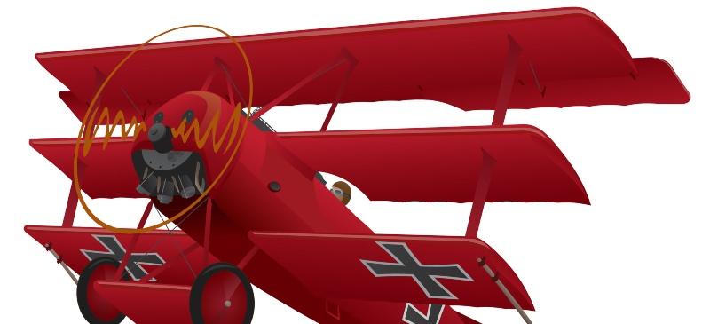 Avión de Barón rojo