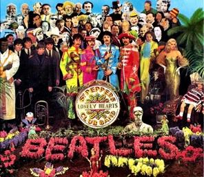 Beatles, portada de su disco