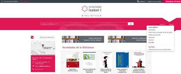 La biblioteca: recurso de aprendizaje