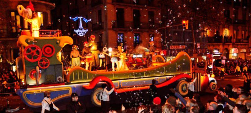 Cabalgada de Reyes de Barcelona.