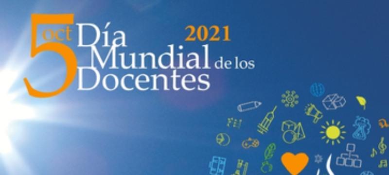 Día Mundial del Docente, parte del cartel