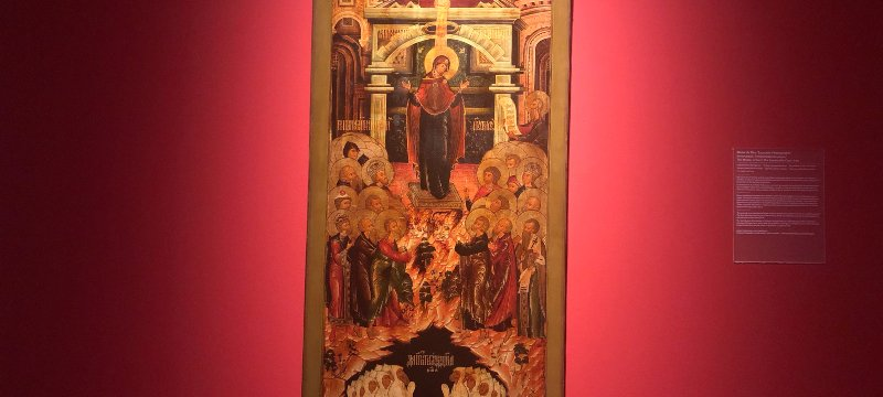 Colección Museo Ruso de Málaga 'Santas Reinas y Obreras'.