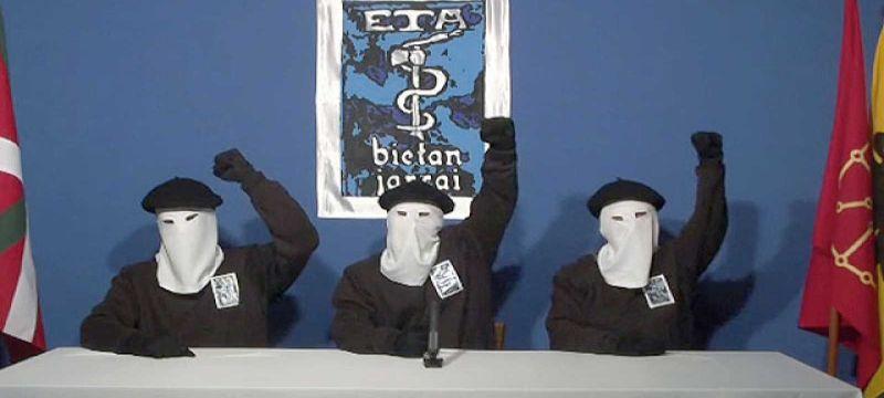 Comunicado de ETA. Fuente: RTVE