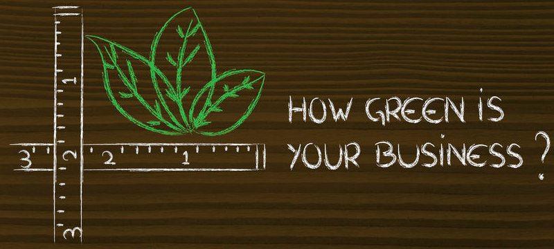 ¿Cómo de verde es tu negocio?