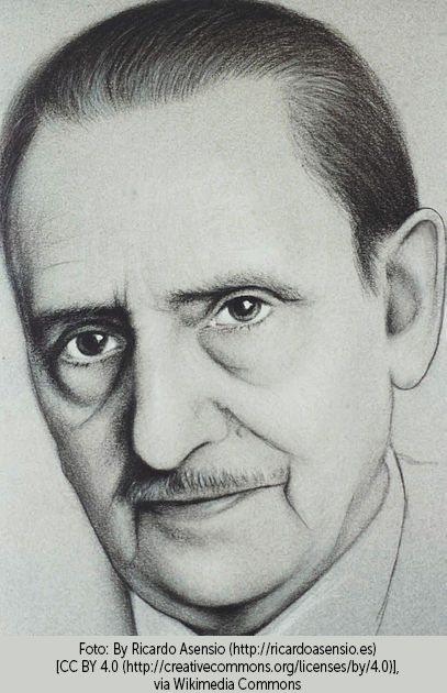 Boceto de Antonio Buero Vallejo (1986)