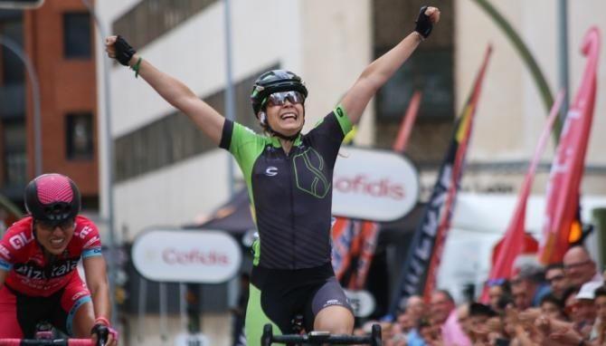 Universidad Isabel I Sheyla Gutierrez campeona espana ciclismo ruta