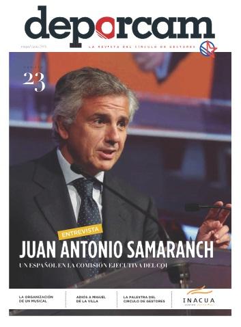 Entrevista a Juan Antonio Samaranch en Deporcam 23