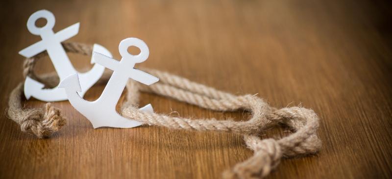 ancla con cuerda