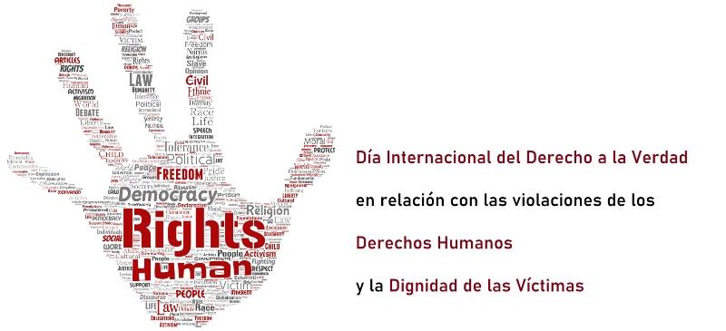 derechos humanos con palabras