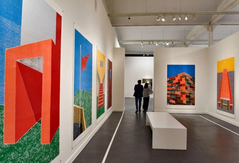Vista de la exposición en Fundación Caixaforum.