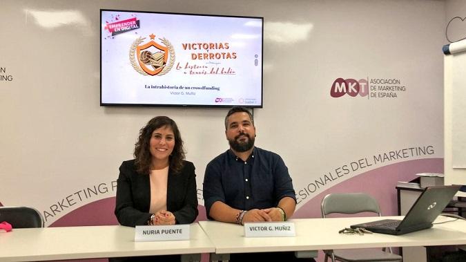 Nuria Puente en la conferencia Emprender en Digital