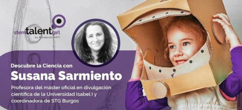 Susana Sarmiento. Stem Talent Girl