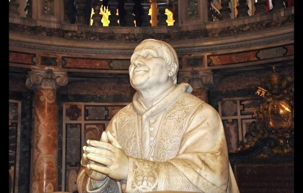 Escultura Pio IX