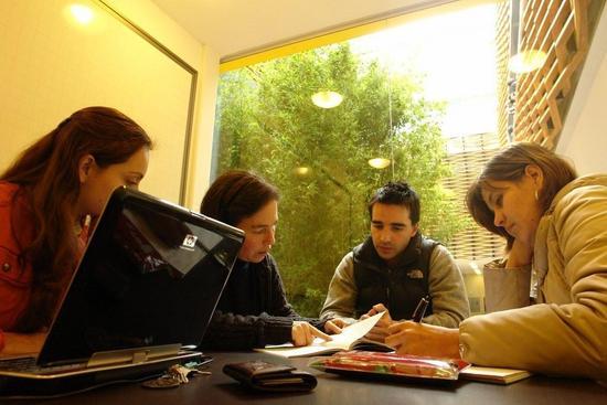Estudio en grupo