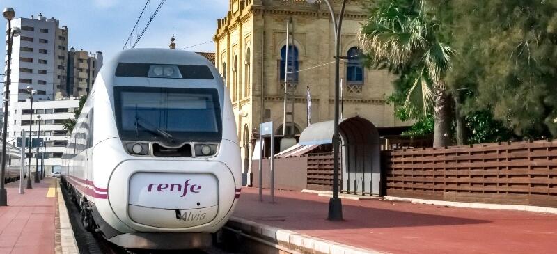 Evolucion ferrocarril España
