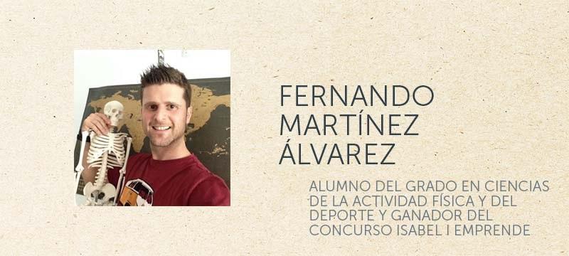 Fernando Martínez, alumno del programa TCUE