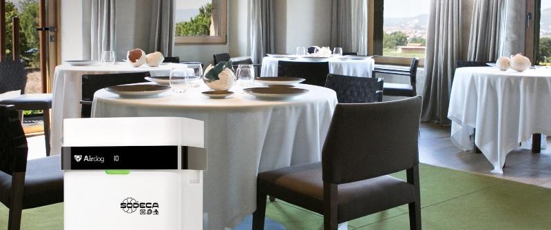 Imagen de Sodeca, empresa de ventilación,  en un restaurante