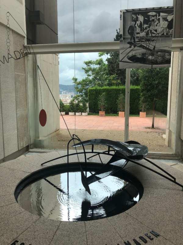 Fuente de mercurio. Joan Miró. Fundación Miró