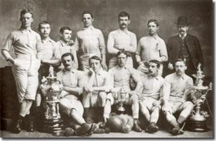 Blackburn Rovers. 1884. Fuente: Wikipedia