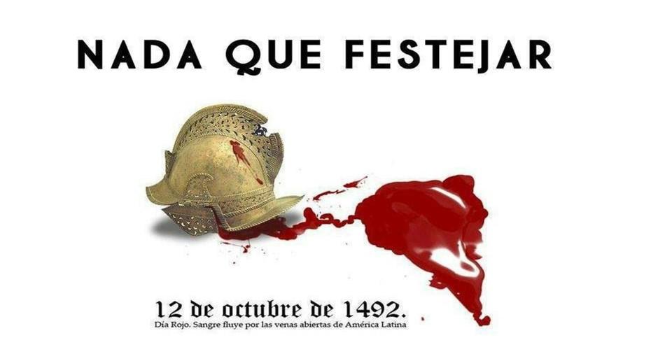 hispanidad. nada que festejar