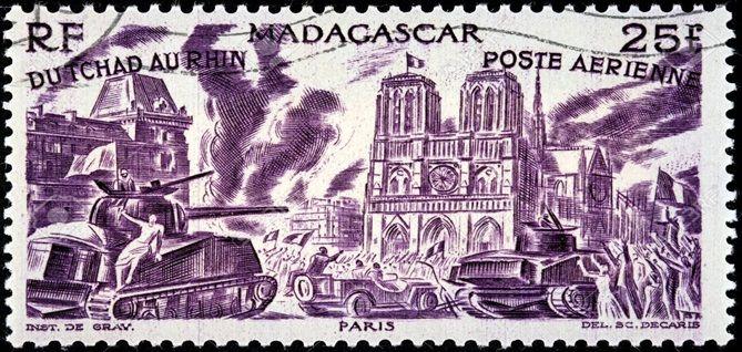 Sello de Madagascar