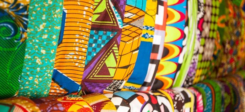 telas de África
