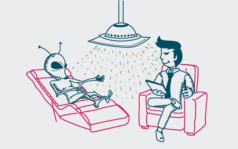 Nueve síntomas para saber si has sido abducido por extraterrestres