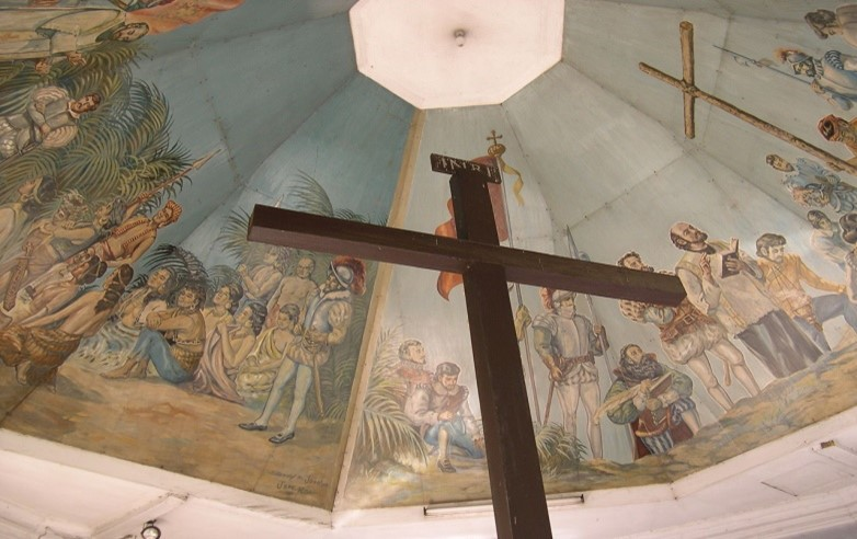 figura 3, cruz de magallanes, en Cebú