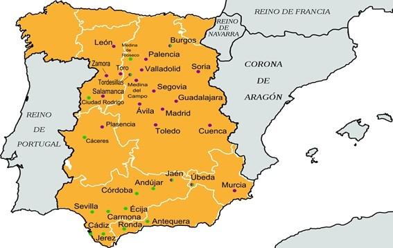 mapa de la revuelta