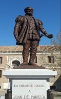 Escultura de Padilla en Toledo. Fuente: Wikipedia.org