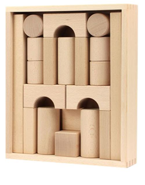 Juego de Fröben de maderas y formas básicas
