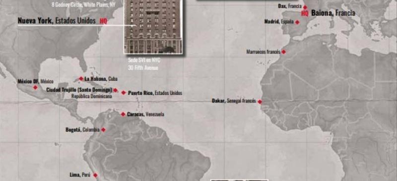Enclaves con representación del Servicio Vasco de Información. Fuente: El Diario.es