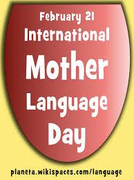 SCartel del Día de la lengua materna