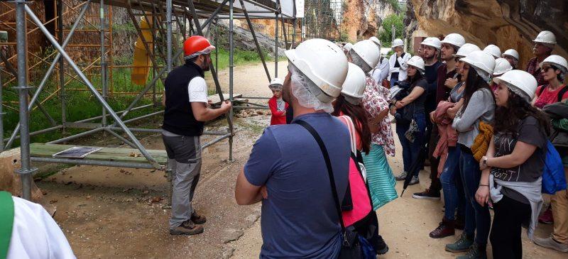Visita a los yacimientos de Atapuerca en la Trinchera del Ferrocarril