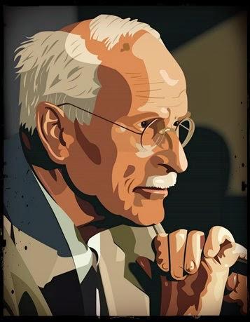 Jung, dibujo del filósofo