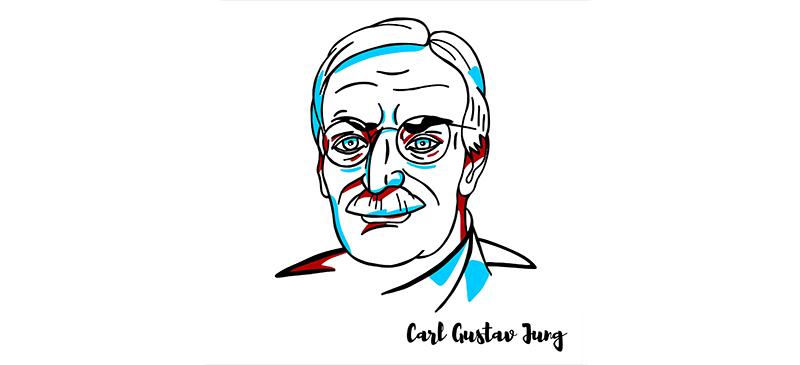 Jung, dibujo del filósofo.