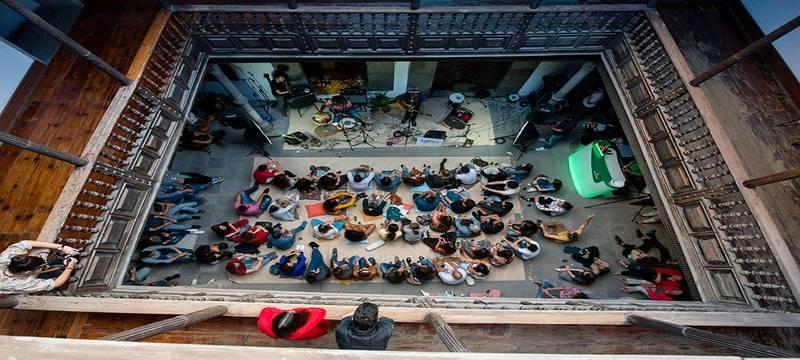 Las Palmas. Centro Atlántico de Arte Contemporáneo. Concierto Ensemble Fábrica.