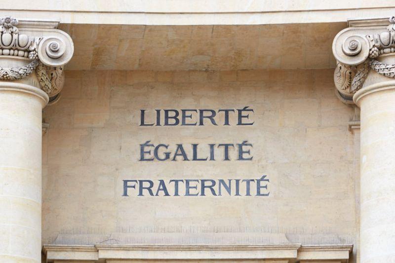 Libertad, Igualdad y Fraternidad